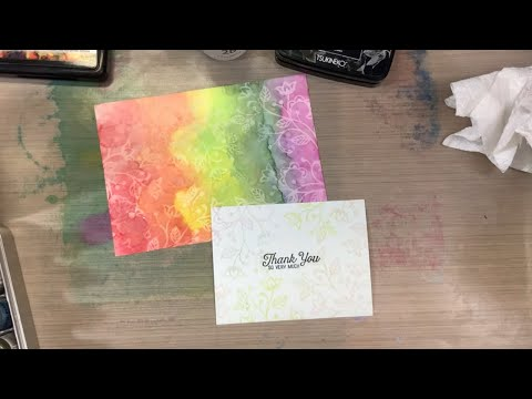 Alcohol pearl inks & lift ink background