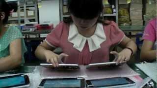 $55 Allwinner Boxchip A13 Tablet Factory Tour
