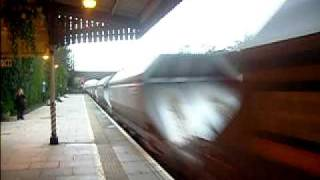 preview picture of video '59,201 Village of Chantry passes through Twyford Station on the 26-03-09'