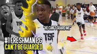 """Meet The #1 Freshman PG IN THE COUNTRY!! 6'2"""" SHIFTY Isaiah Collier DOES IT ALL! Curry Range 3's"""
