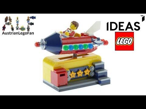 Vidéo LEGO Ideas 40335 : Manège de fusée spatiale