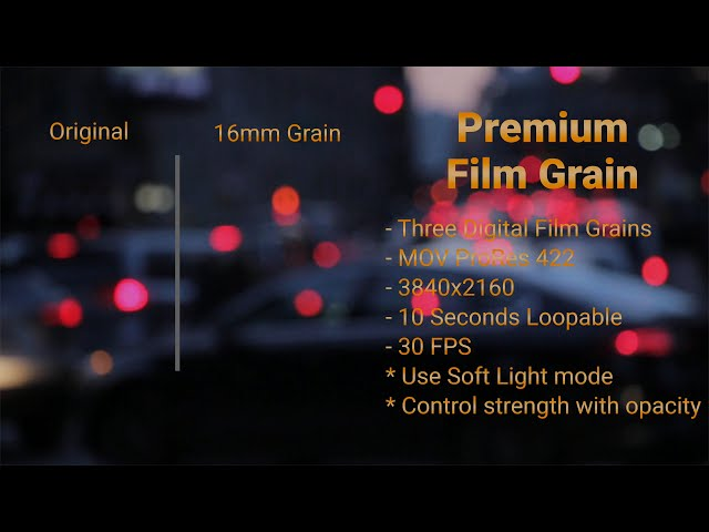 Premium Film Grain 4k