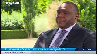RDC - JP Bemba Gombo en entretien exclusif avec TV5MONDE