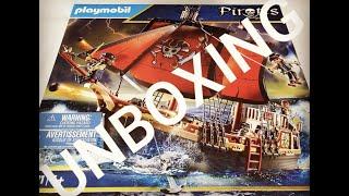 Totenkopf-Kampfschiff Playmobil 70411 Unboxing