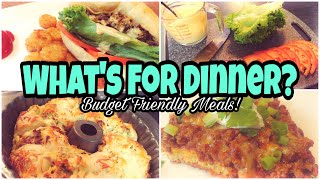 What's For Dinner? | Easy and Budget Friendly Meal Ideas