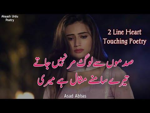 Download 2 Line Best Urdu Poetry Collection Two Line Sad Shayari