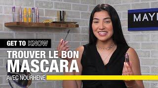 Comment Choisir LE Bon Mascara ? Avec Nourhène 👁💛  GET TO KNOW  Maybelline New York FR