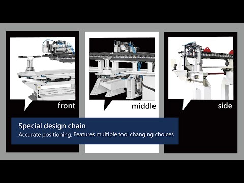 DVCA series - multiple tool changing position
