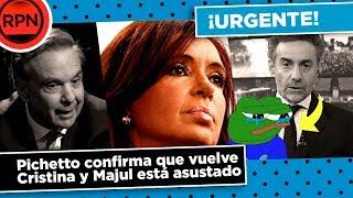 *URGENTE* Pichetto confirma que CFK será candidata en 2019, y Majul está muy asustado
