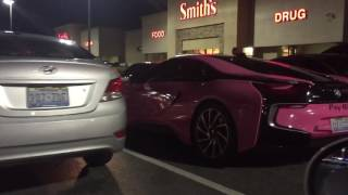 Pink Bmw I8 Videos