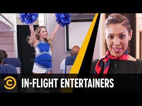Aerolinka s živou zábavou
