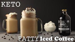 Keto Fatty Iced Coffee • A NON butter version!