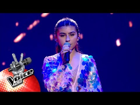 Mary - 'No Tears Left To Cry'   Finale   The Voice Kids   VTM