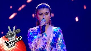 Mary   'No Tears Left To Cry' | Finale | The Voice Kids | VTM