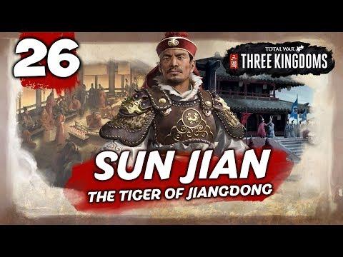 THE UNSTOPPABLE TIGER! Total War: Three Kingdoms - Sun Jian - Romance Campaign #26