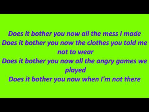Dido - Don`t Think Of Me with lyrics .avi
