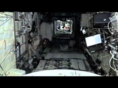 NASA's Smart SPHERES, floating robot drones on the ISS