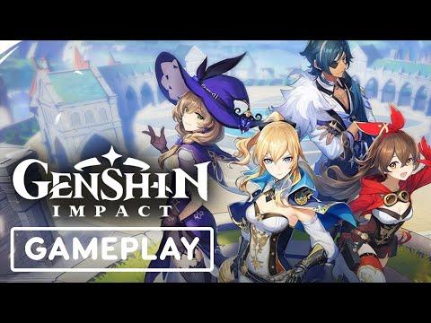 Berikut Penampakan Gameplay 12 Menit Dari Versi Pc Genshin Impact Gamebrott Com