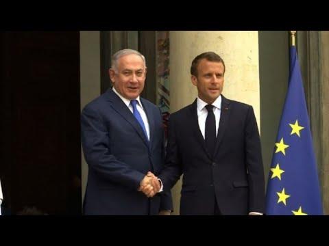 """Résultat de recherche d'images pour """"netanyahu indésirable par la société civile france"""""""