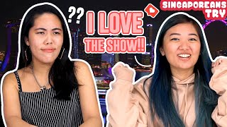 Singaporeans Try: Reacting to Singapore Social