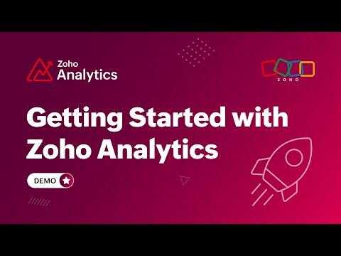 Zoho Analytics Youtube preview
