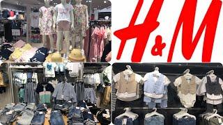 H&M KIDS CLOTHES SUMMER (0-14 )/ JUNE 2020