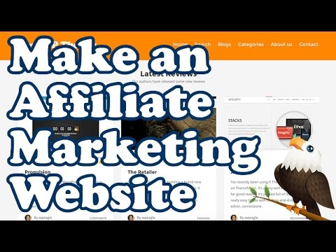 How To Make an AFFILIATE MARKETING REVIEW WEBSITE for Beginners - Clickbank, Amazon, CJ & More