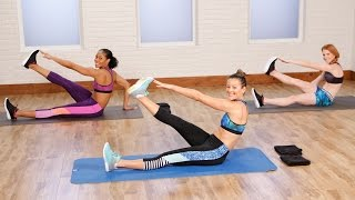 10-Minute Flat Belly Workout to Tighten and Tone | Class FitSugar by POPSUGAR Fitness