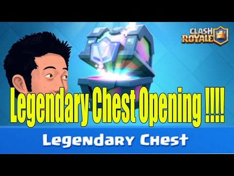 Clash Royale #8 / Legendary chest opening !!! / SK Let's play