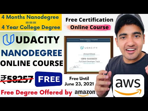 Udacity Nanodegree Free Course With Free Certificate | Student Get ...