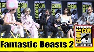 Fantastic Beasts 2   Comic Con 2018 Full Panel (Eddie Redmayne, Johnny Depp, Jude Law, Ezra Miller)