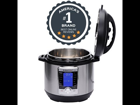 Instant Pot Ultra 6 Qt 10 in 1 Multi  Use Programmable Pressure Cooker, Slow Cooker, Rice Cooker, Yo