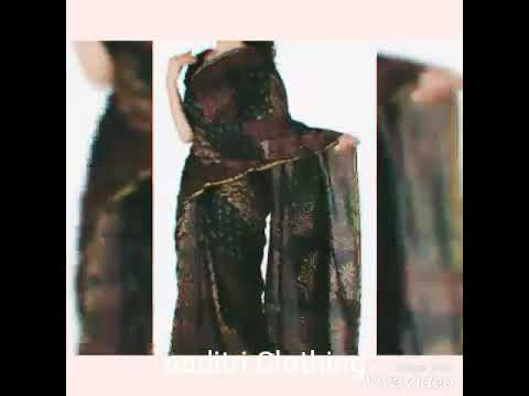 Stylish Chanderi Batik Saree Attached Blouse Piece