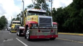LLEGADA MUEBLERIA BERRIOS Y PITUSA - PUERTO RICO TRUCK SHOW