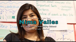 Cactus Ranch Elementary 2017 Teacher of the Year: Nima Valles