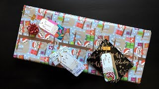 DIY Gift Tags Made From Coloring Book Pages