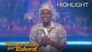 The Moment Brian King Joseph Received 3rd Place On AGT - America's Got Talent 2018