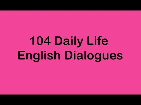 mp4 Learning English Dialogue, download Learning English Dialogue video klip Learning English Dialogue