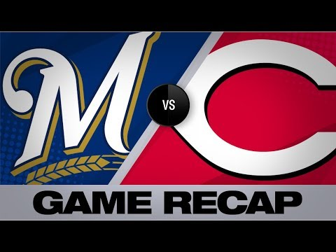 Puig, Iglesias deliver Reds' 5-4 walk-off win | Brewers-Reds Game Highlights 7/2/19