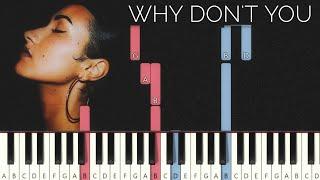 Cleo Sol - Why Don't You (#ReggieWatkins Piano tutorial)
