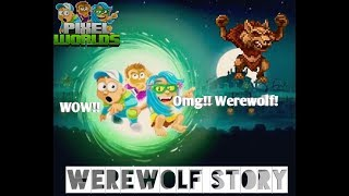 Pixel Worlds | How Did Become A Werewolf? (Halloween Short Film)