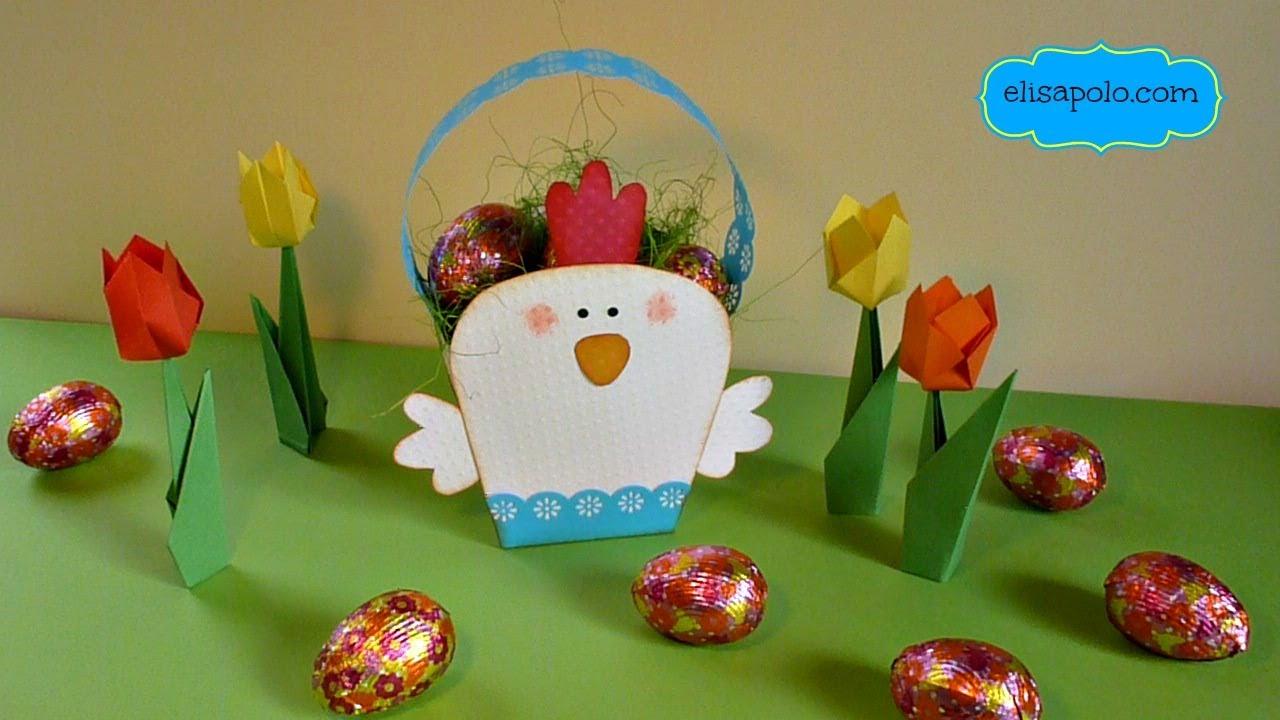 DIY, Ideas para Cestas de Pascua, Amazing Easter Basket