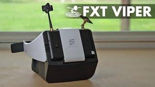 $160 FPV Goggles - FXT Viper - Video Youtube
