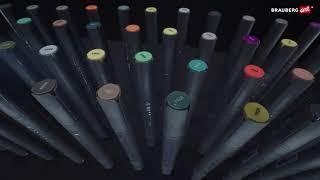 Маркер для скетчинга двусторонний 1 мм — 6 мм BRAUBERG ART CLASSIC, ХОЛОДНЫЙ СЕРЫЙ 2 (CGII02), 151878