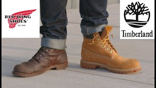 RED WING VS TIMBERLAND - Which Is the Better Boot?