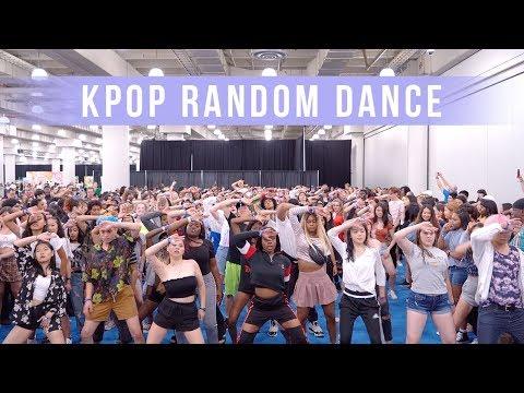 KPOP Random Play Dance in New York | Ellen and Brian