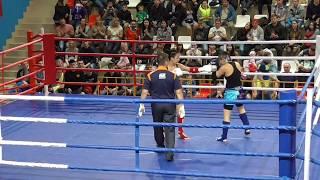 PRO-AM Турнир Россия vs Киргизия, 4 бой, 2 раунд