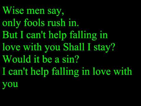 UB40 - (I Can't Help) Falling In Love With You(Lyrics)