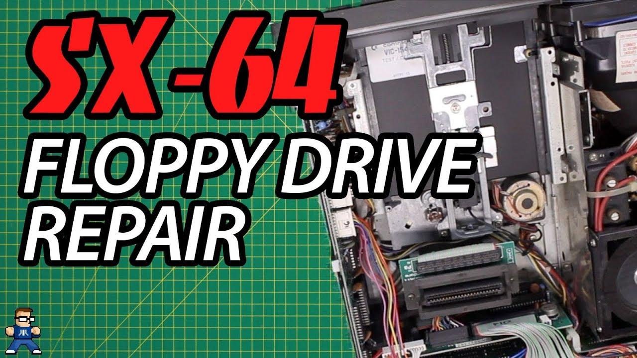 Commodore SX-64 1541 Floppy Drive Repair