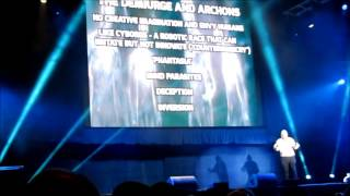 David Icke- Live Wembly Arena 2014- Archons and Demiurge